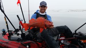 Robert field on the central coast central coast kayak for Central coast kayak fishing